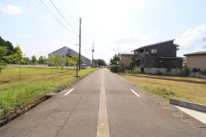 南側道路 令和2年8月撮影
