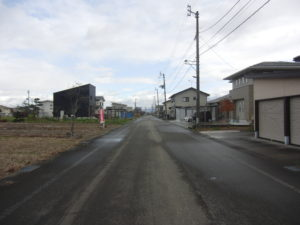 前面道路 R1年11月