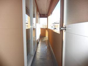 2階 バルコニー
