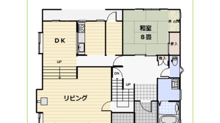 1階間取図