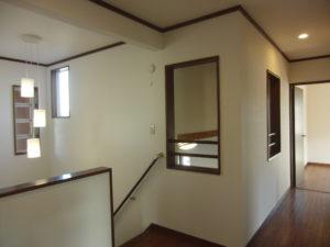 2階 吹抜け廊下