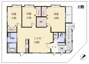 2階 間取図