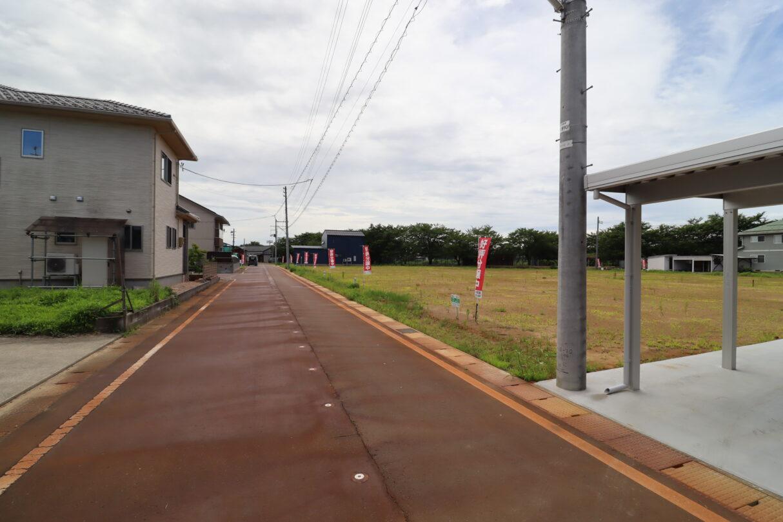 区画10から南東側撮影(R3年7月)