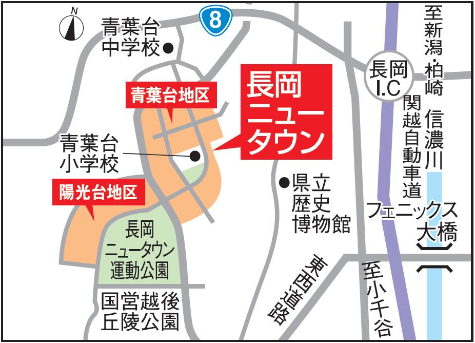 青葉台・陽光台 地図