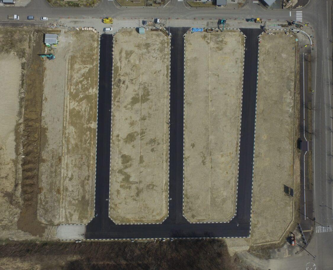 空撮 真上から R3年4月撮影