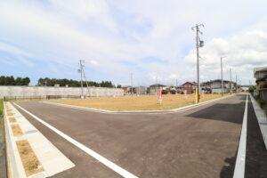 区画21から東側に向けて撮影 R3年9月
