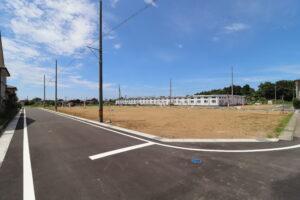 南東側から分譲地を撮影 R3年7月撮影