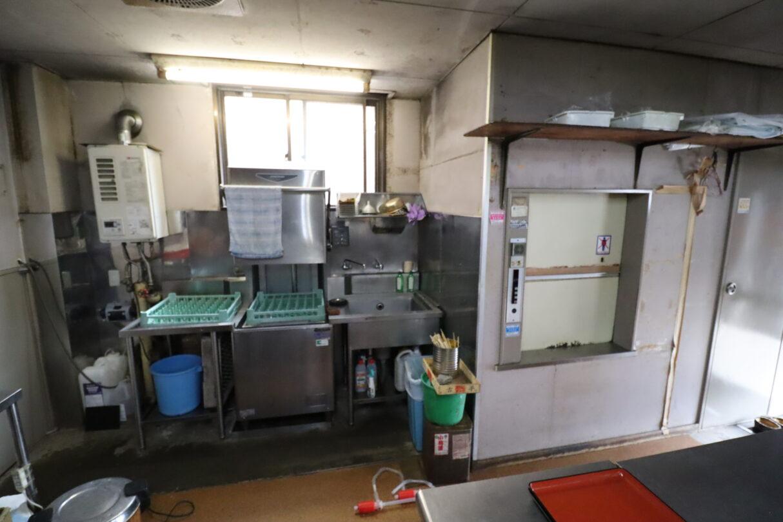 厨房設備(食洗器・料理用エレベーター)