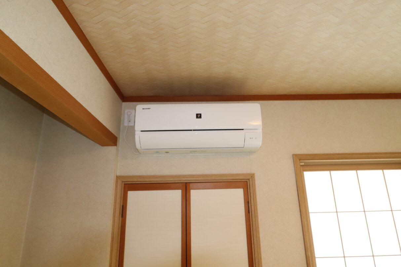 2階和室エアコン 新品