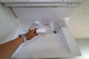 洗面台(シャワーノズル)
