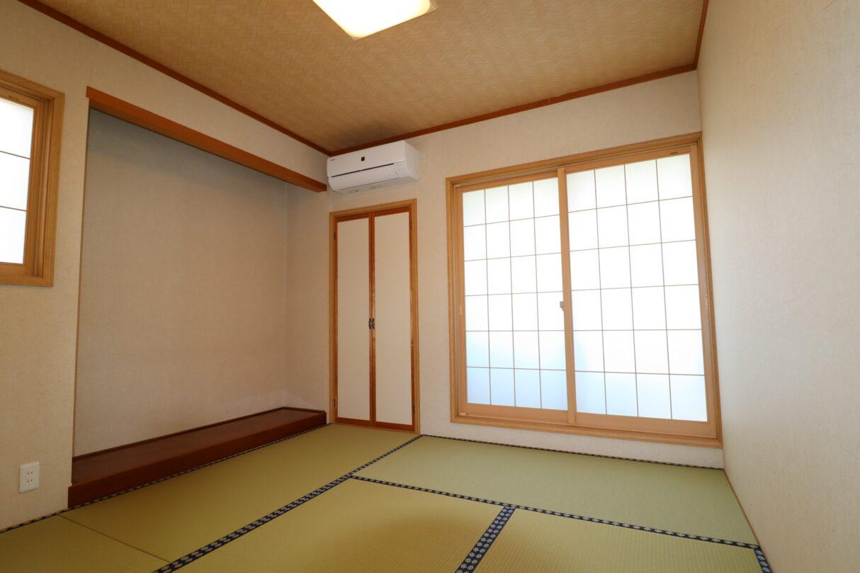 2階和室(たたみ表替え、襖張替え)